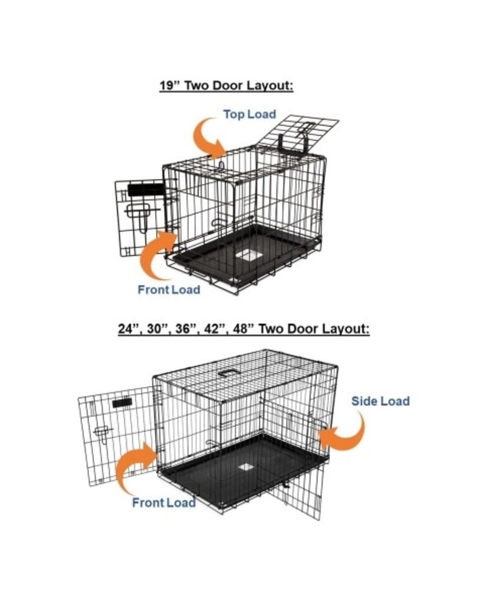 Precision Pet ProValu 2 Door Wire Pet Crate 1000 19in