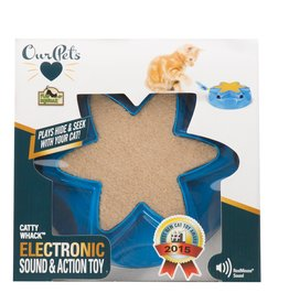 OurPets by Cosmic Catty Whack Electronic Hide & Seek Cat Toy