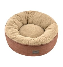 Dream Chaser Donut Bed in Brown Small