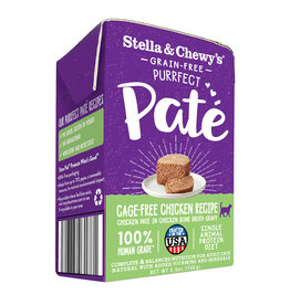 Stella and Chewys Stella & Chewy's Cat Purrfect Pate Cage Free Chicken 5.5oz