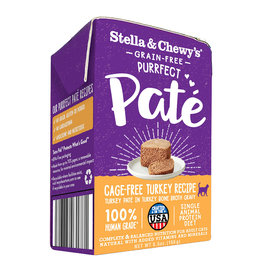 Stella and Chewys Stella & Chewy's Cat Purrfect Pate Cage Free Turkey 5.5oz