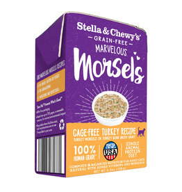 Stella and Chewys Stella & Chewy's Cat Marvelous Morsels Cage Free Turkey 5.5oz