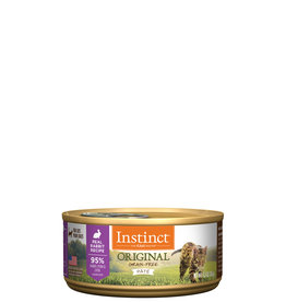Nature's Variety Instinct Cat Can Rabbit 5.5oz