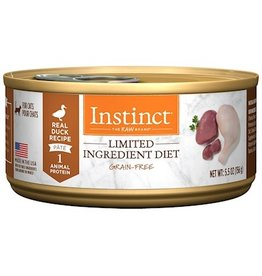 Nature's Variety Instinct Cat Can LID Duck 5.5oz