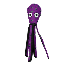 VIP Pet Tuffy Purple Squid Dog Toy