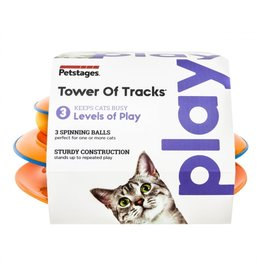 Tower of Tracks Ball Track Cat Toy