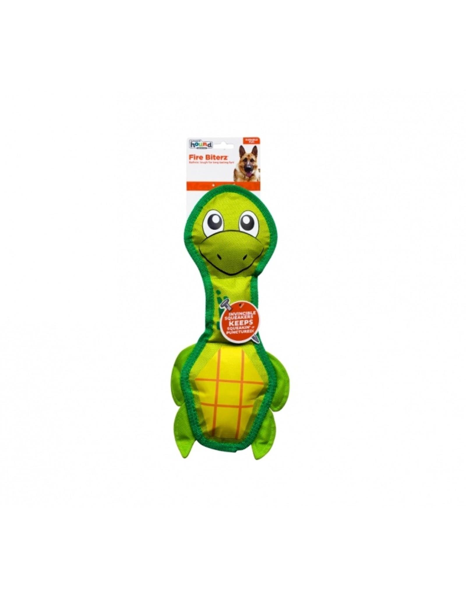 Outward Hound Outward Hound Fire Biterz Sea Turtle Dog Toy