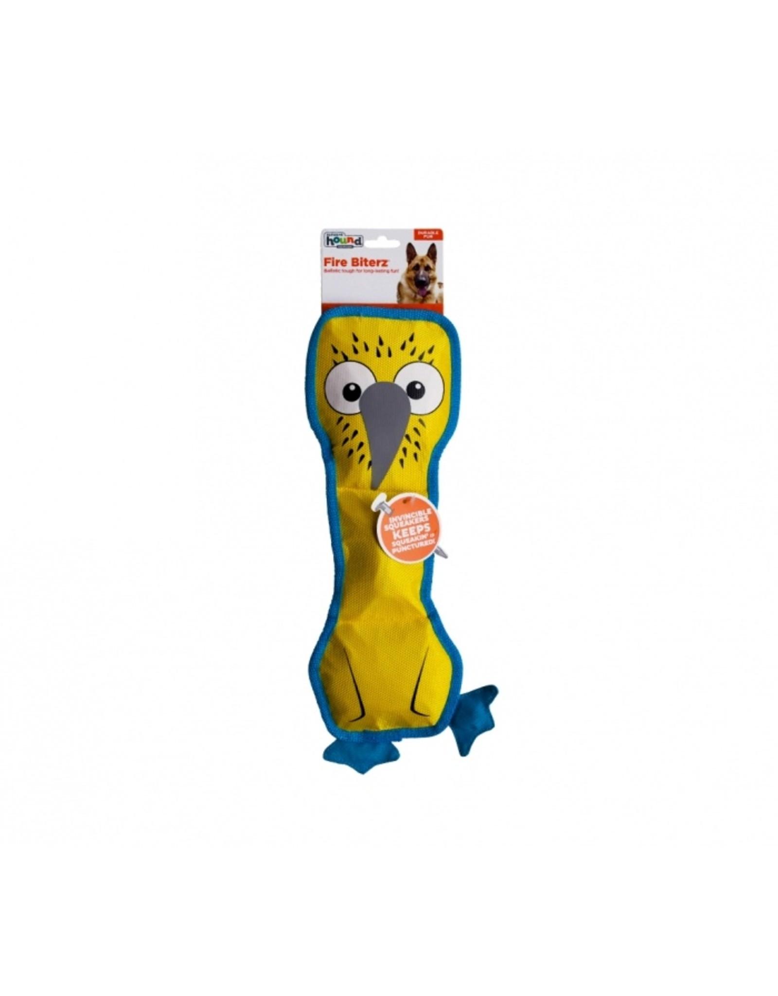 Outward Hound Outward Hound Fire Biterz Blue Footed Boobie Dog Toy