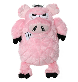 VIP Pet Mighty Angry Pig Tough Dog Toy