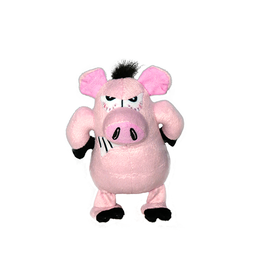 VIP Pet Mighty Angry Animals Pig Jr. Small Dog Toy