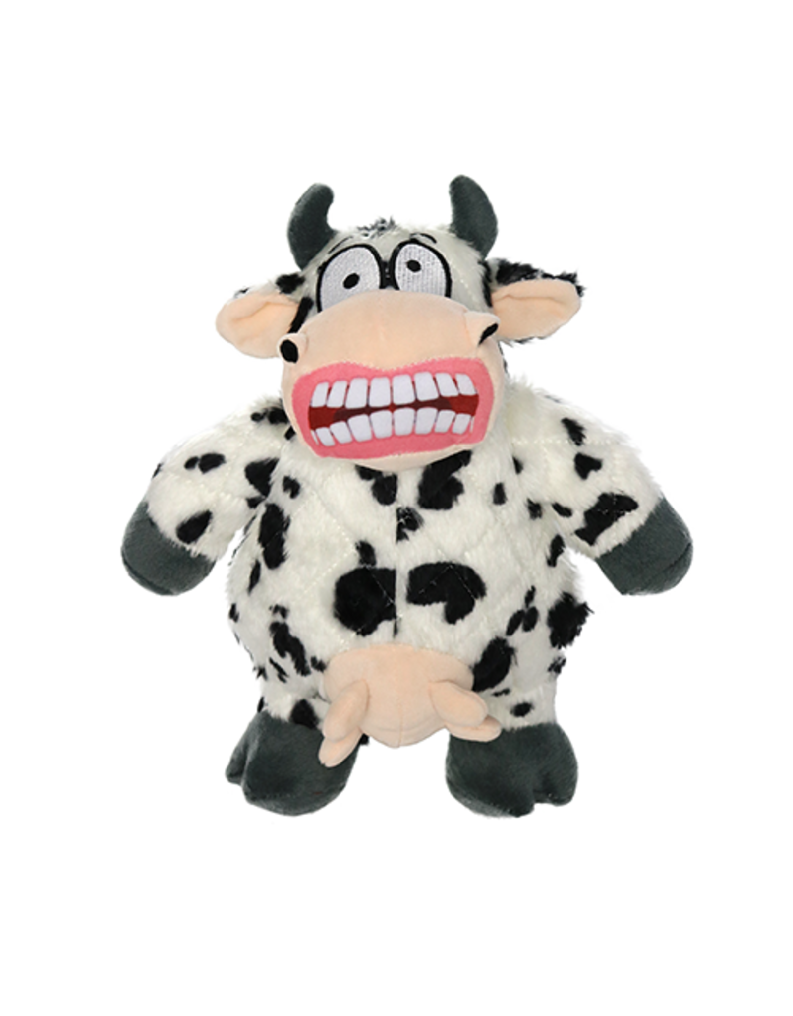 VIP Pet Mighty Angry Animals Cow Dog Toy