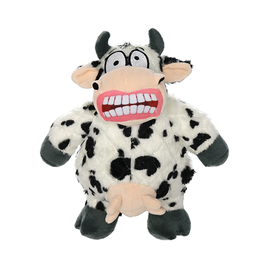 VIP Pet Mighty Angry Animals Cow Tough Dog Toy