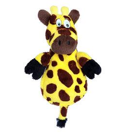 Go Dog Hear Doggy Ultrasonic Squeaker Flat Giraffe