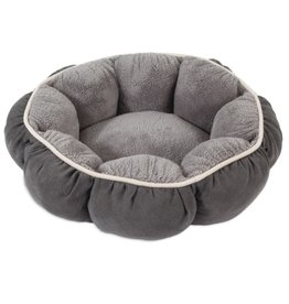 Petmate Aspen Pet Puffy Round Cat & Dog Bed