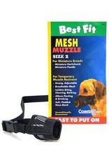 Coastal Best Fit Adjustable Mesh Ventilated Dog Muzzle