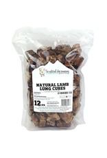 Natural Dog Natural Dog Lamb Lung Cubes 12oz Dog Treat