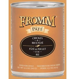 Fromm Fromm Dog Can Chicken & Rice Pate 12.2oz