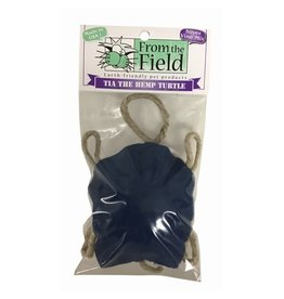 From the Field Tia the Hemp Turtle Toy with Catnip & Silver Vine