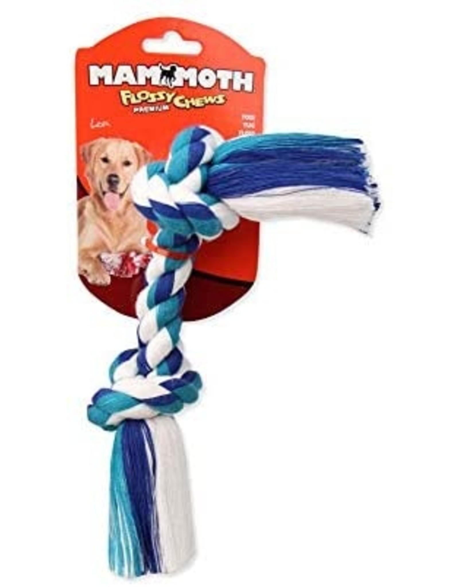 Mammoth  Flossy Chews Dog Toy Tug Rope Bone Mini 6in