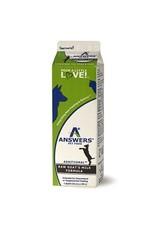 Answers Answers Frozen Fermented Raw Goat Milk