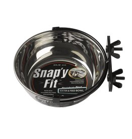 Midwest Homes for Pets Snap'y Fit Crate Bowls Various Sizes