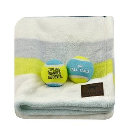 "Tall Tails Doggy Blanket & Ball Gift Set 30"" x 36"""