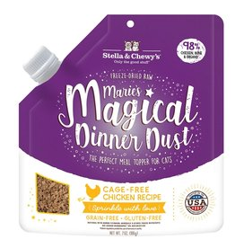 Stella and Chewys Magical Dinner Dust for Cats Chicken 7oz