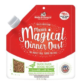 Stella and Chewys Magical Dinner Dust for Dogs Duck 7oz