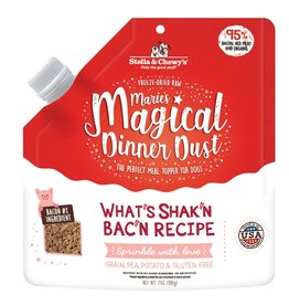 Stella and Chewys Magical Dinner Dust for Dogs Bacon 7oz