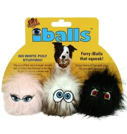 VIP Pet Silly Squeakers iBalls XS 3pk