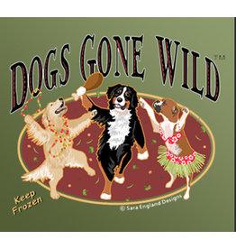 Dogs Gone Wild Dogs Gone Wild Frozen Raw Beef Chub 1lb