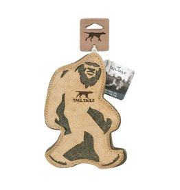 Tall Tails Leather Bigfoot Toy