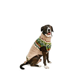 Chilly Dog Raggwool Fairisle Sweater