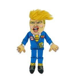 Fuzzu Fuzzu Donald Trump Squeaker Toy 12in