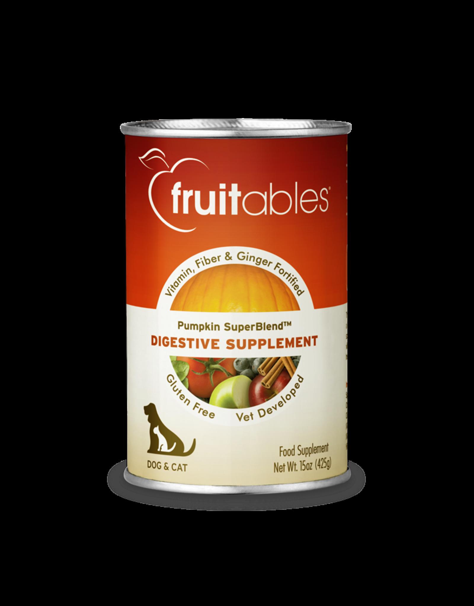 Fruitables SuperBlend Pumpkin Digestive Supplement 15oz Can
