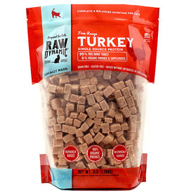 Raw Dynamic Raw Dynamic Cat Raw Turkey 3lb