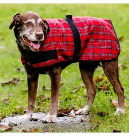 HuggleHounds Flannel Dog Jacket