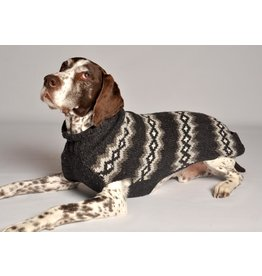 Chilly Dog Gray Diamonds Sweater