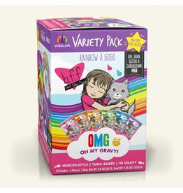 Weruva BFF BFF OMG Cat Rainbow A Gogo Variety 12 Pack