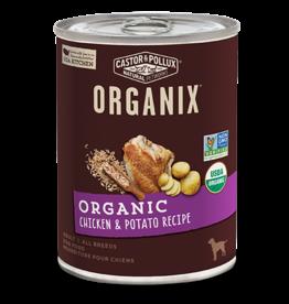 Castor & Pollux Organix Dog Can Chicken & Potato 12.7oz