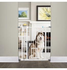 Carlson Extra Tall Walk Thru Pet Gate w/Door