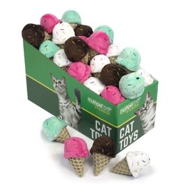 Multipet Multipet Ice Cream Catnip Cat Toy