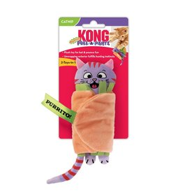 Kong Kong Pull A Partz Purrito Cat Toy