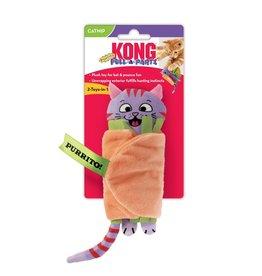 Kong Kong Pull A Partz Purrito Cat Toy