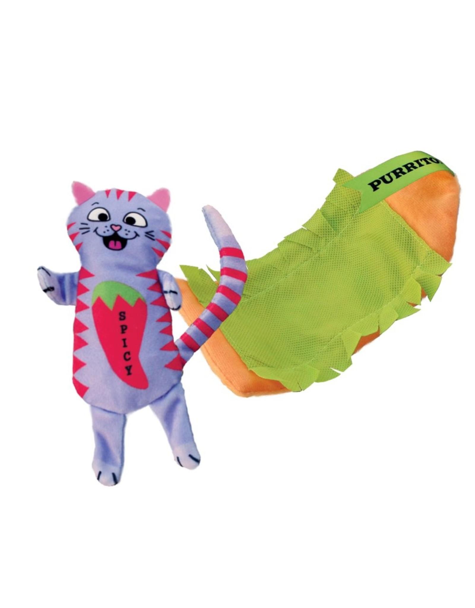 Kong Kong Pull A Partz Purrito Burrito Cat Toy
