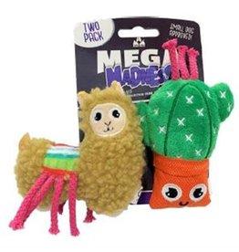 Mega Madness Llama and Cactus 2pk