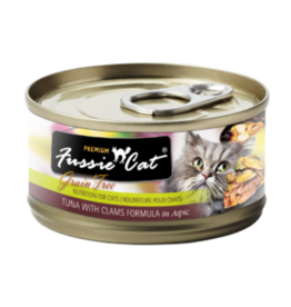 Fussie Cat Fussie Cat Can Tuna Clams 2.8oz
