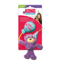 Kong Kong Birthday Teddy Cat Toy