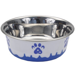 Maslow Non-Skid Paw Design Stainless Bowl