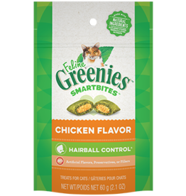Greenies Greenies Cat Treats Hairball Control Chicken